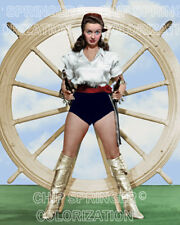 NOEL NEILL (Lois Lane) & Paddle Wheel | Sexy 8x10 COLOR PHOTO BY CHIP SPRINGER