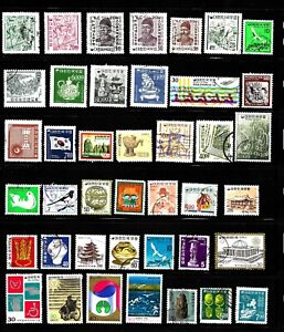 HICK GIRL- BEAUTIFUL OLD USED  KOREA  STAMPS  PAGE FULL  VARIOUS ISSUES     X136