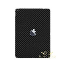 SopiGuard Carbon Fiber Vinyl Skin Protector Back Side for Apple iPad Pro 9.7