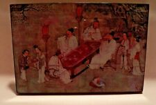 China Ming Chou Ying Painting   'A Night Dinner in Garden' #441011 Reproduction