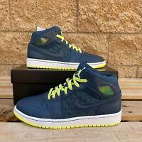 Air Jordan 1 Retro 97 TXT'Squadron Blue' Men's Vintage Sneaker 555071-445 US10.5