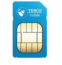 100 TESCO SIM CARDS PRELOADED WITH 20p BRAND NEW LOOSE