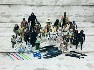 Hasbro Star Wars Action Figures Bundle Collection Clone Wars, Force Awakens