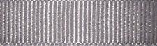 6mm Berisfords Grey Grosgrain Ribbon 20m Reel