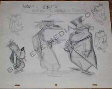 TEX AVERY DRAWING-RARE-BUGS BUNNY,ANIMATION ART,CARTOON,COMIC ART,ILLUSTRATION