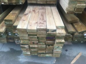Treated Pine H3 90x45 5.4m lengths only Rail Joist Deck Decking Fencing Fence