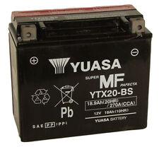 YUASA Genuino ytx20-bs, 12v 18ah moto Kit de batería Inc Relleno