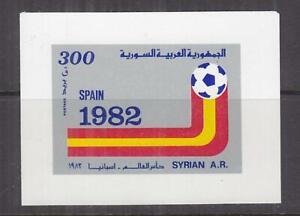 SYRIA, 1982 Football World Cup, Spain, 300p. Souvenir Sheet, mnh.