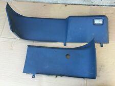 87-93 Ford Mustang Regatta Blue Cargo Lower Hatch Panels Quarter Panels OEM