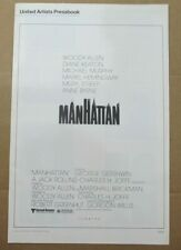 MANHATTAN ORIGINAL PRESSBOOK 1979 NO CUT OUTS WOODY ALLEN DIANE KEATON STREEP
