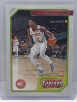 2019-20 Panini Chronicles Threads #94 De'Andre Hunter RC Rookie Atlanta Hawks