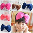 Baby Girl Infant Toddler Headband Big Bowknot Bow Hair Band Headwear Hot Style