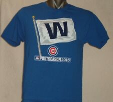 "Chicago CUBS Postseason 2015 ""W"" Flag - Large T-shirt"
