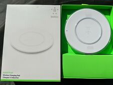 Belkin BOOST UP  Qi Wireless Charger Charging Pad White EU PLUG Apple. Iphone
