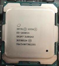 Intel Xeon E5-1650 V4 QS 3.6GHz 6 Six Core LGA 2011-3 CPU Processor