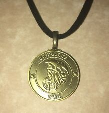 Handmade Knut Gringotts Coin Necklace Jewelry For Harry Potter Fans Gift