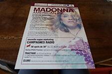 MADONNA - Plan média / Press kit !!! AMERICAN PIE - MEGATUBE !!!