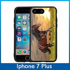 Sunset Running Horse For Iphone 7 Plus (5.5) Case Cover By Atomic Market