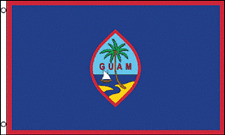 3x5 Guam Flag 3'x5' House Banner grommets super polyester