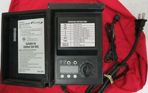 Malibu 120W Power Pack Low Voltage Landscape Transformer 8100-9120-01 & Sensor