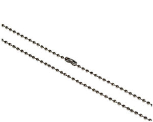 Steel Ball Neck Chain for ID Cards - FREE DELIVERY