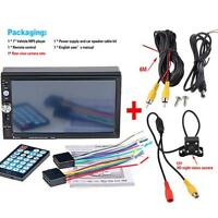 "Double 2Din 7"" Car Stereo MP5 MP3 Player HD In Dash Bluetooth Ipod TV Radio Ford"