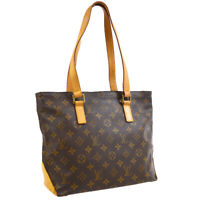 LOUIS VUITTON CABAS PIANO HAND TOTE BAG DU0092 PURSE MONOGRAM M51148 31912