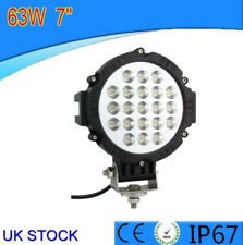 1x 63 W brillante LED Coche Offroad Jeep 4x4 Conducción Trabajo Luz de niebla lámpara de haz puntual Nuevo