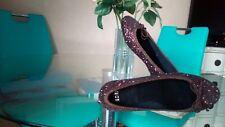 Ballerines  marron glacé Eden Shoes P.39 neuves