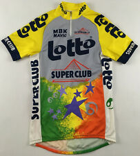 Lotto Super Club 1990 Belgium cycling shirt top jersey Radtrikot 1990s 2XL XXL