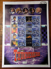 BC-021 - Classic Thunderbirds Smilers Stamp Sheet - USED !!
