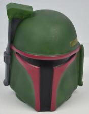 Genuine Star Wars Boba Fett Head Helmet Collectible Piggy Coin Bank *READ*
