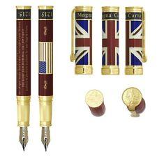 NEW David Oscarson Ruby Magna Carta Collection Fountain Pen