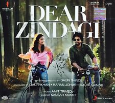 Dear Zindagi - 2016 HINDI MOVIE CD OST / Shahrukh Khan, Alia Bhatt / Arijit Sing