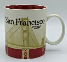 Starbucks Global Icon SAN FRANCISCO Collector Series 16 OZ 2012 Coffee Mug