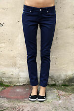 "Meltin 'Pot Jeans ""Mika"" Damen navy blau Denim Slim Stretch Fit W29 L28 UK12"
