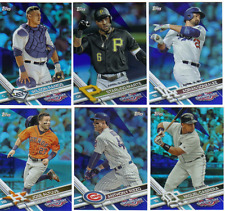 2017 Topps Opening Day Baseball - Blue Foil Parallels - Pick From Card #'s 1-200