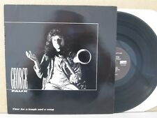GEORGE FAUX- Time For A Laugh And A Song LP (1989 Folk Vinyl NM) Fiddle/Mandolin