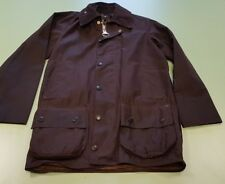Barbour Beaufort Classic Vintage 80's Waxed Jacket Rustic C32 81cm New With Tag