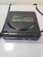 Sony D-T24 Discman FM/AM Walkman vintage For Parts Or Fix