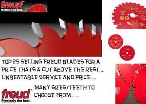 New Freud Pro Circular Saw Blade TCT Trim Rip Mitre Chop Cross Cut Wood Cutting