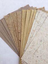 20x Natural Set#4 Handmade Mulberry Saa paper sheets - Scrapbook, Craft, Card