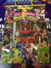 Power Rangers SABAN 1994 Gift Bag 12x17 Pictures of All The Zords
