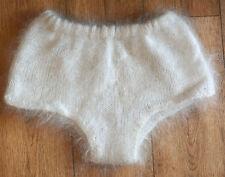 briefs shorts leggins Cashmere fluff Goat Fur FETISH soft warm no Mohair Angora