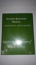 Student Solutions Manual Algebra & Trigonometry AND Algebra Review Third Edition