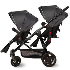 Lightest Twins Baby Stroller Portable Carriage Double travel system pushchair