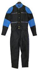 Leichte Nylon-Kombi 2-teilig schwarz/blau    Bitte Maßangaben beachten !