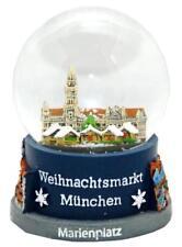Schneekugel München Weihnachtsmarkt Christmas,Snowglobe Germany Souvenir