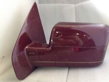 2004 2005 2006 Ford F150 Left Side 4 Dr Mirror OEM Red Free Shipping #A192
