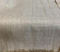 LAURA ASHLEY DALTON REMNANT IN NATURAL WOVEN UPHOLSTERY FABRIC 2.4 METRES